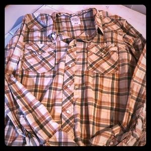Lucky Brand Casual Snap Button Shirt